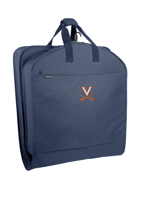 NCAA Virginia Cavaliers 40 Inch Suit Length Garment Bag with Pockets