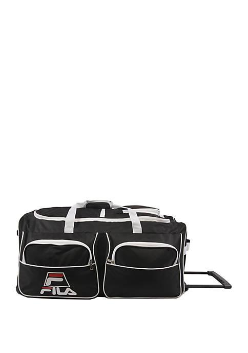 30 in 8 Pocket Rolling Duffel Bag