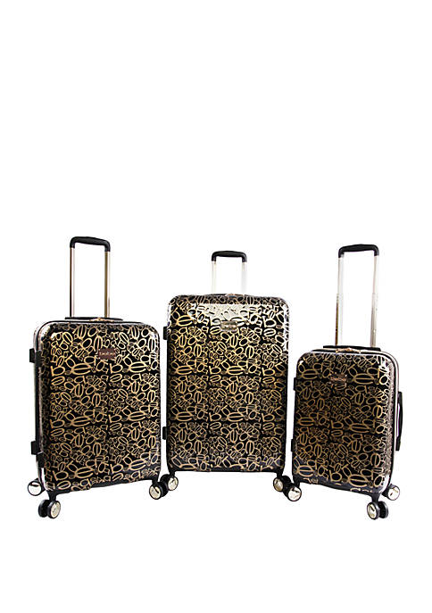 Bebe Annabelle 3-Piece Suitcase Spin Set