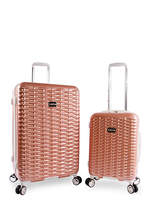 Bebe Lydia 2-Piece Spin Suitcase Set