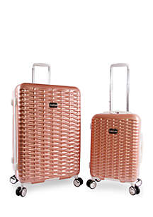 Lydia 2-Piece Spin Suitcase Set