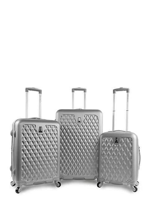 Pacific Coast® Pandora Hardside Rolling Luggage Set