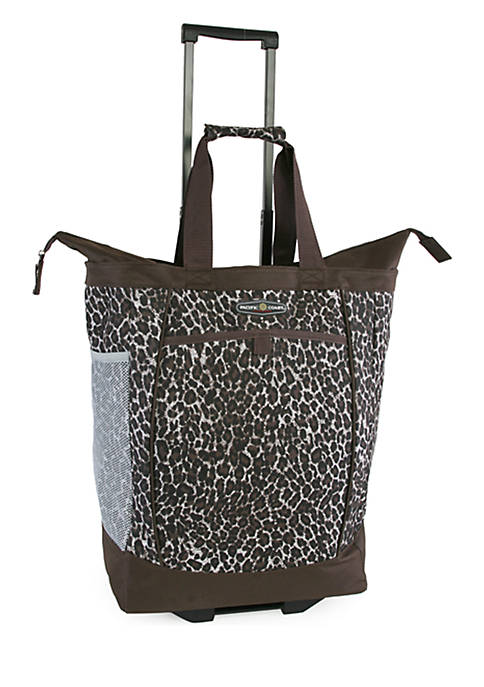 Pacific Coast® Rolling Shopping Tote Bag