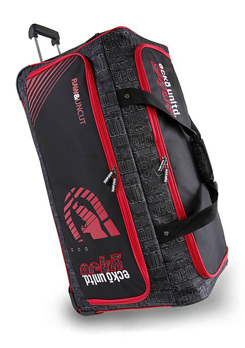 Ecko Unltd. Large Rolling Duffel Bag