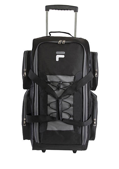 FILA USA Lightweight Medium Check In Rolling Duffel