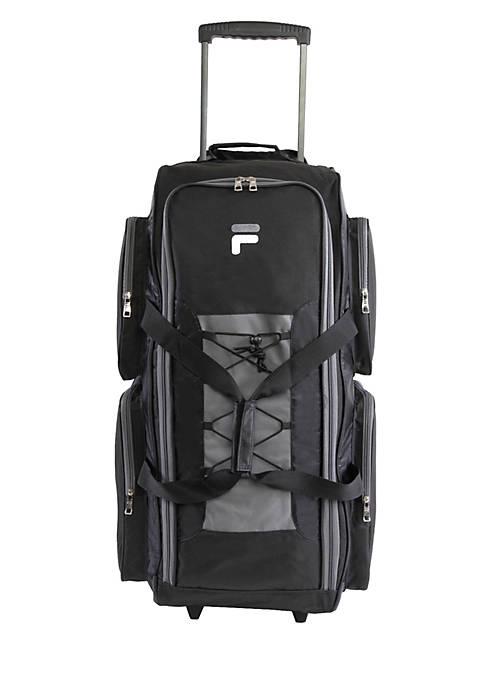 FILA USA Lightweight Rolling Duffel Bag