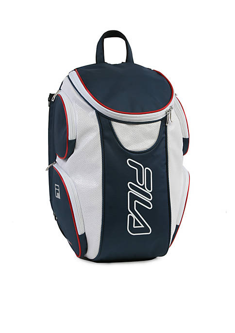 FILA USA Ultimate Tennis Backpack with Shoe Pocket