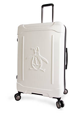 Crest Expandable Hardside Checked Spinner Luggage