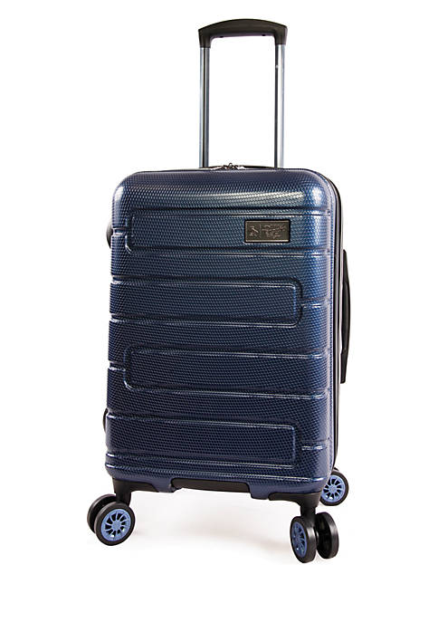 Crimson Expandable Hardside Carry-On Spinner Luggage
