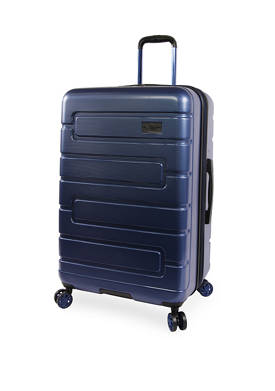 Crimson Expandable Hardside Checked Spinner Luggage