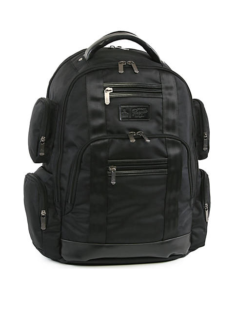 Original Penguin Peterson 9 Pocket Laptop/Tablet Backpack