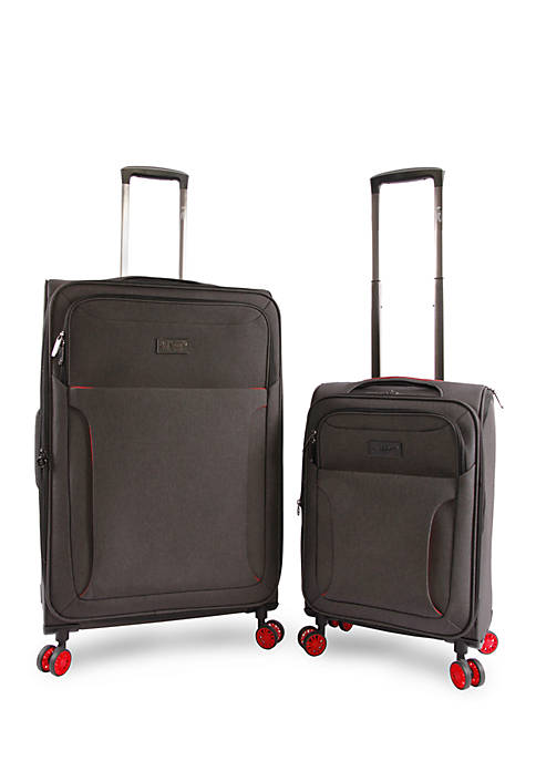 Original Penguin Platt 2 Piece Expandable Spinner Luggage
