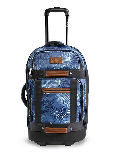 Original Penguin Casual Carry-On Upright Rolling Duffel Bag