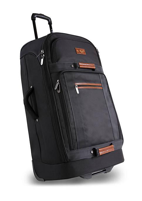 Casual Upright Rolling Duffel Bag