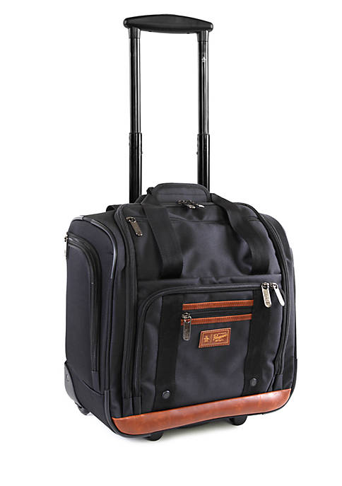 Original Penguin Underseat 16-in. Rolling Carry-On Tote