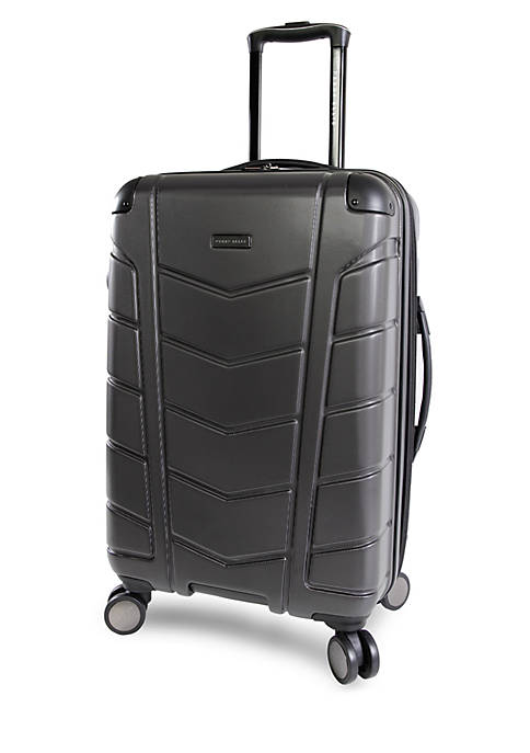 Perry Ellis® Tanner 29-in. Hardside Checked Spinner Luggage