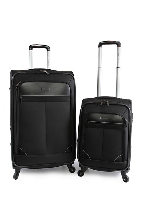 Perry Ellis® Tribute 2-Piece Spinner Luggage Set