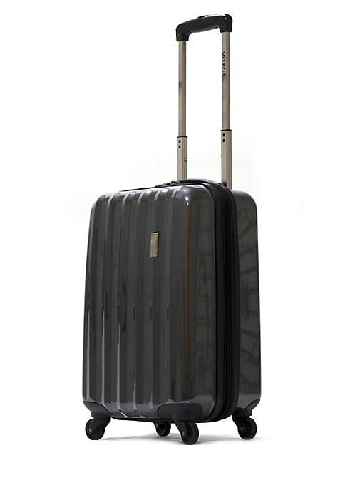 Olympia Luggage Titan Black Hardside Carry On