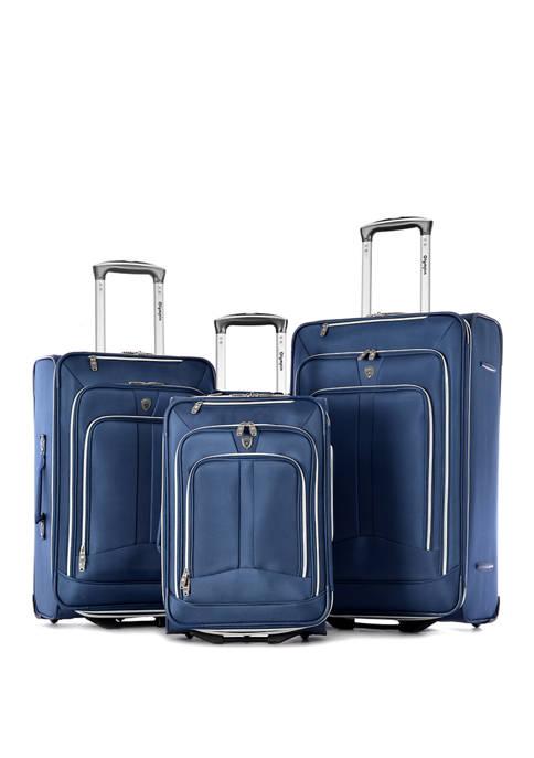 Olympia Luggage Upright Luggage Set