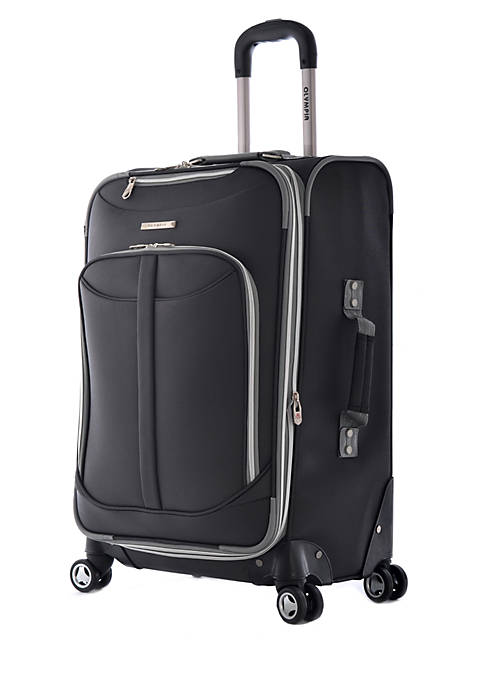 Olympia Luggage Tuscany Upright Spinner Black 25-in. x