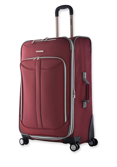 Olympia Luggage Tuscany Upright Spinner Red 25-in. x