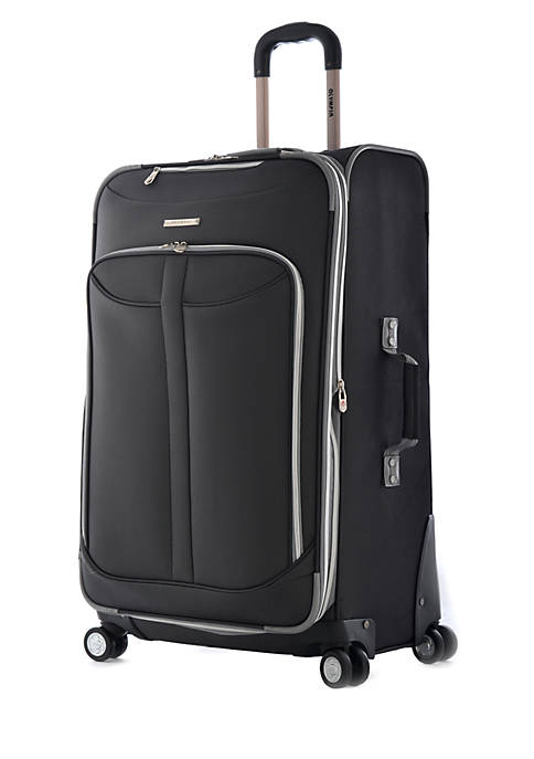 Olympia Luggage Tuscany Upright Spinner Black 30-in. x