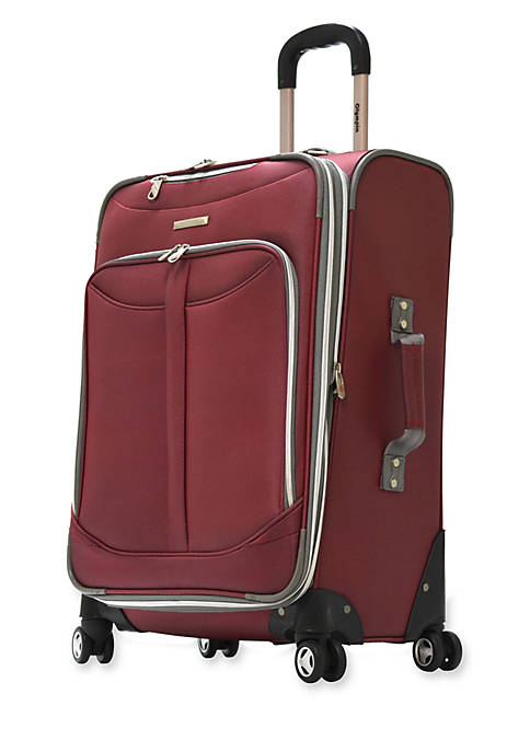 Olympia Luggage Tuscany Upright Spinner Red 30-in. x