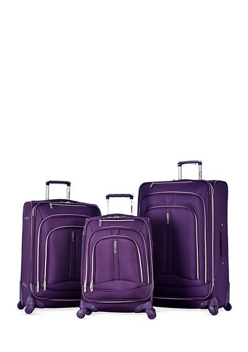 Olympia Luggage Marion 3 Piece Luggage Set