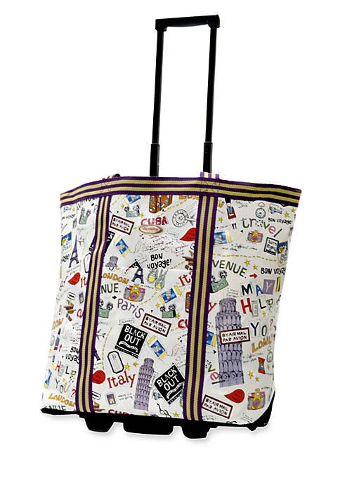 Olympia Luggage Cosmopolitan Rolling Tote