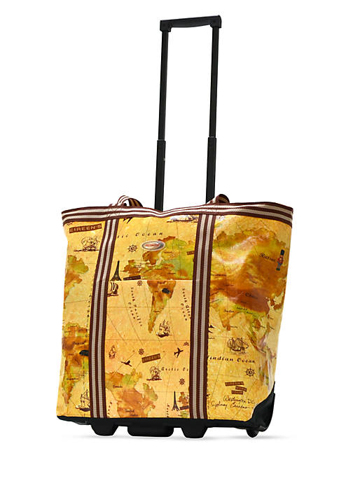 Cosmopolitan Rolling Tote - Online Only