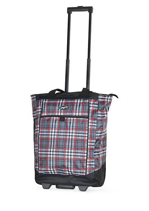 Olympia Luggage Fashionista Rolling Shopper Tote
