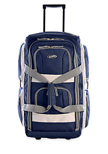 1697a372ea Drop Bottom Duffle · Olympia Luggage 26-in. Rolling Duffel
