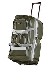 Olympia Luggage 29-in. 8 Pocket Rolling Duffel