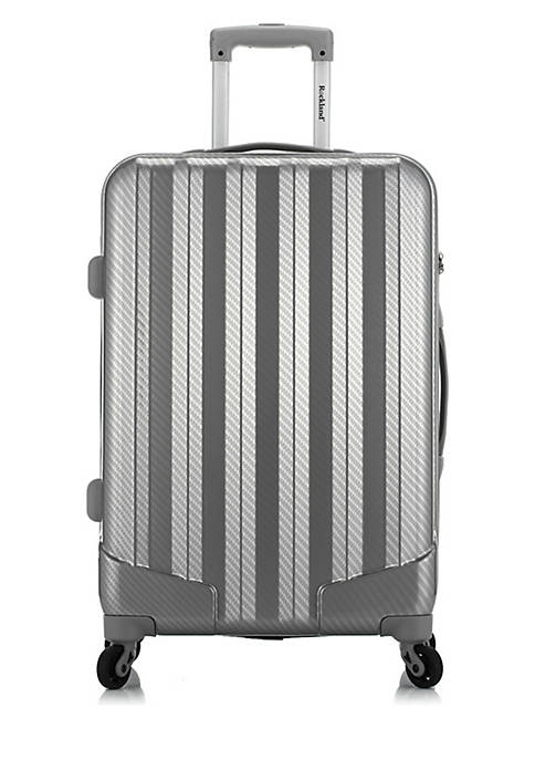 Barcelona 3 Piece Luggage Set with 6 Piece Travel Set and Luggage Cover