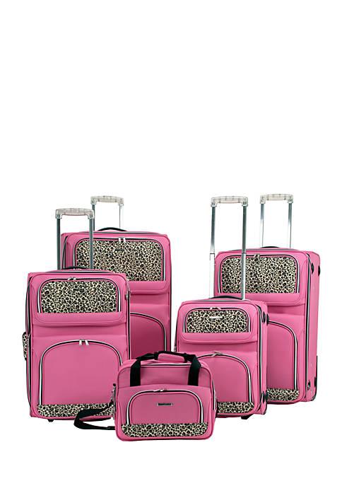 5 Piece Expandable Luggage Set