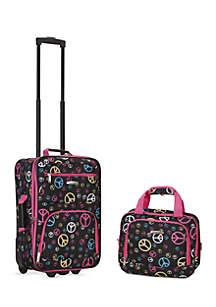 2 Piece Luggage Set - Peace