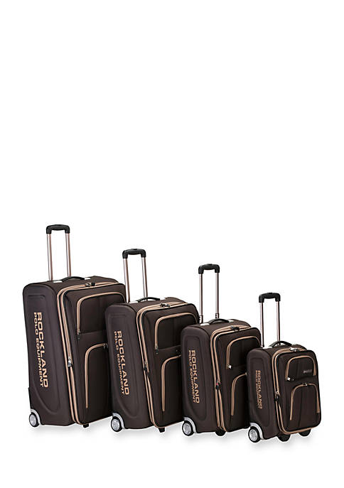 4 Piece Varsity Rockland Polo Equipment Upright Luggage