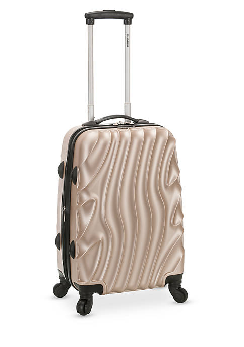 Rockland Melbourne 20 Inch Expandable ABS Carry On