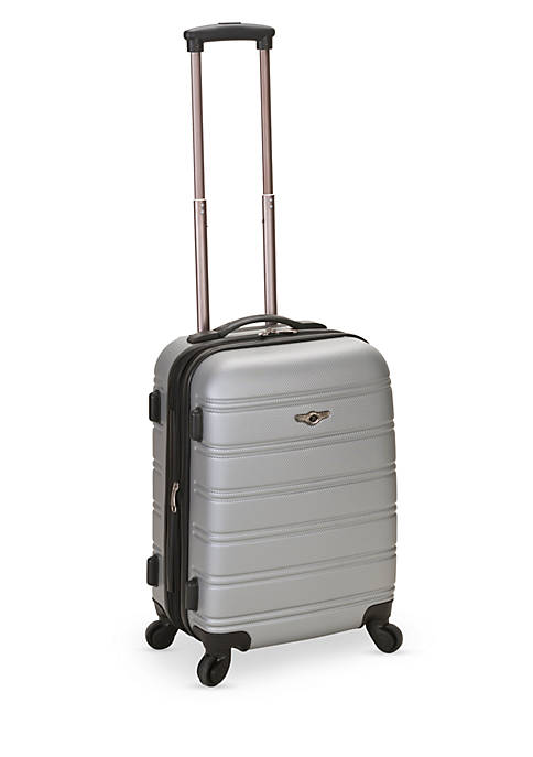 Rockland Melbourne 20-in. Expandable ABS Carry On