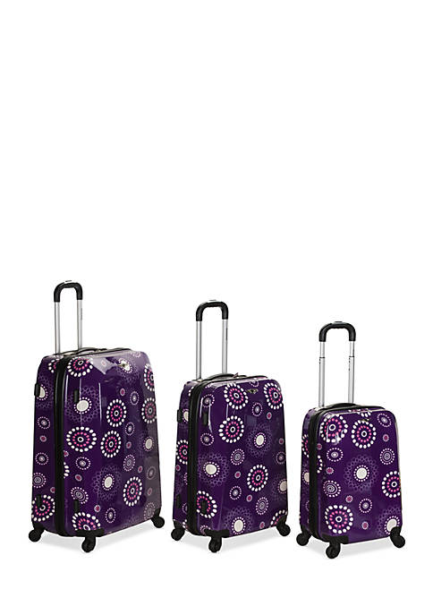 Rockland 3 Piece Vision Luggage Set