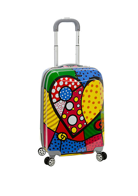 20 Inch Polycarbonate Carry On Spinner