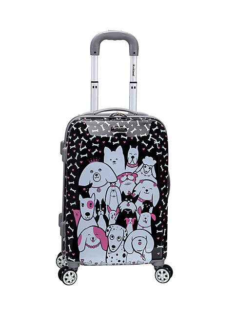 Rockland 20 Inch Polycarbonate Carry On Spinner