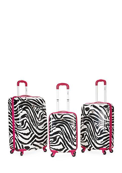 Rockland 3 Piece Safari Luggage Set