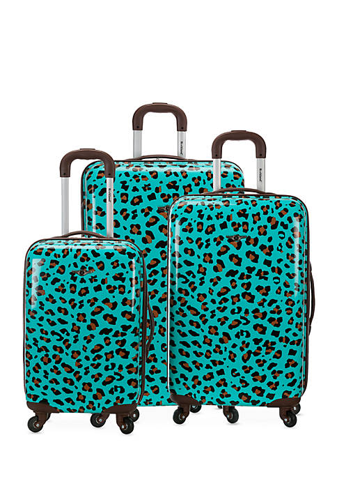 Rockland 3 Piece Polycarbonate Luggage Set