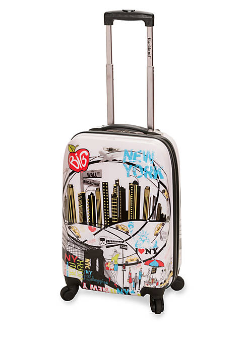 20-in Polycarbonate New York Carry on Bag