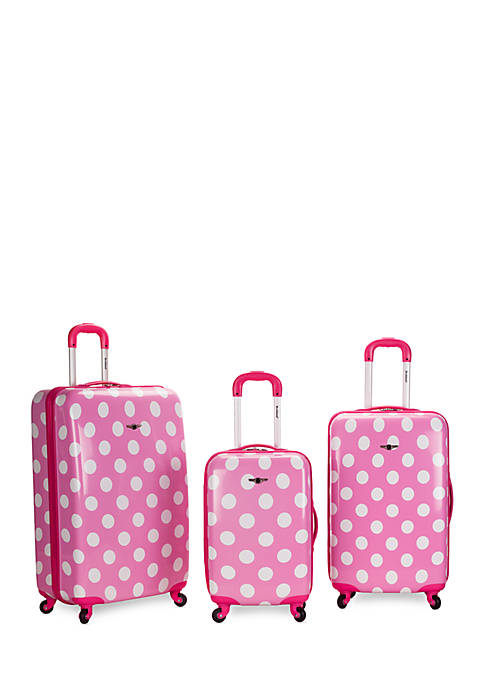 "Rockland 20"" Polycarbonate Carry On"
