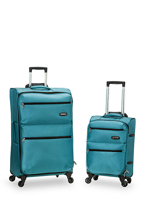 Rockland Gravity 2 Piece Lightweight Luggage Set