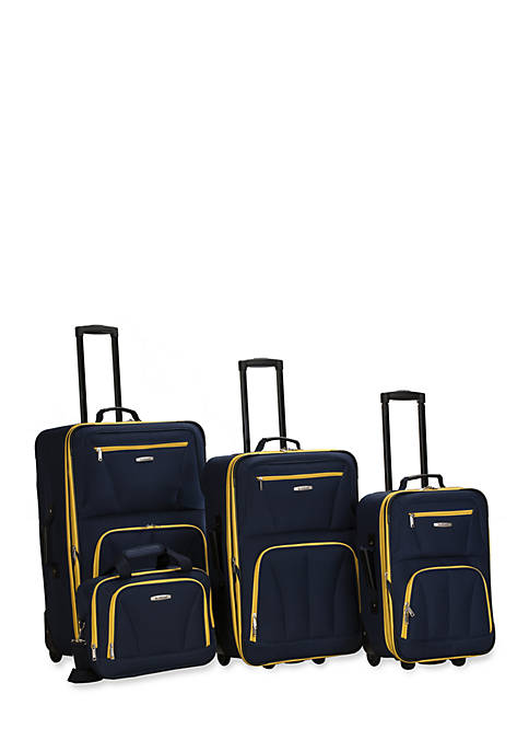 4 Piece Luggage Set - Navy