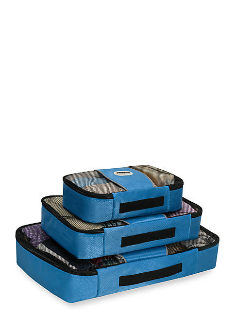 Packing Cubes Set of 3 in Blue