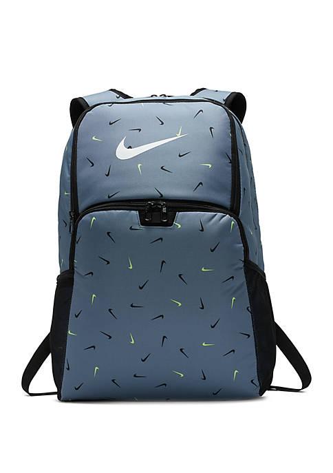 Nike® Brasilia Training Printed Backpack